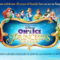 Read more about Disney On Ice 15% Off Princesses & Heroes Admission Tickets 21 Jan 2013