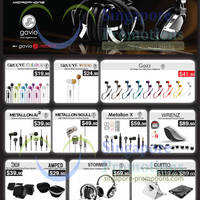 Read more about Gavio Earphones & Multimedia Products Price List 9 Jan 2013