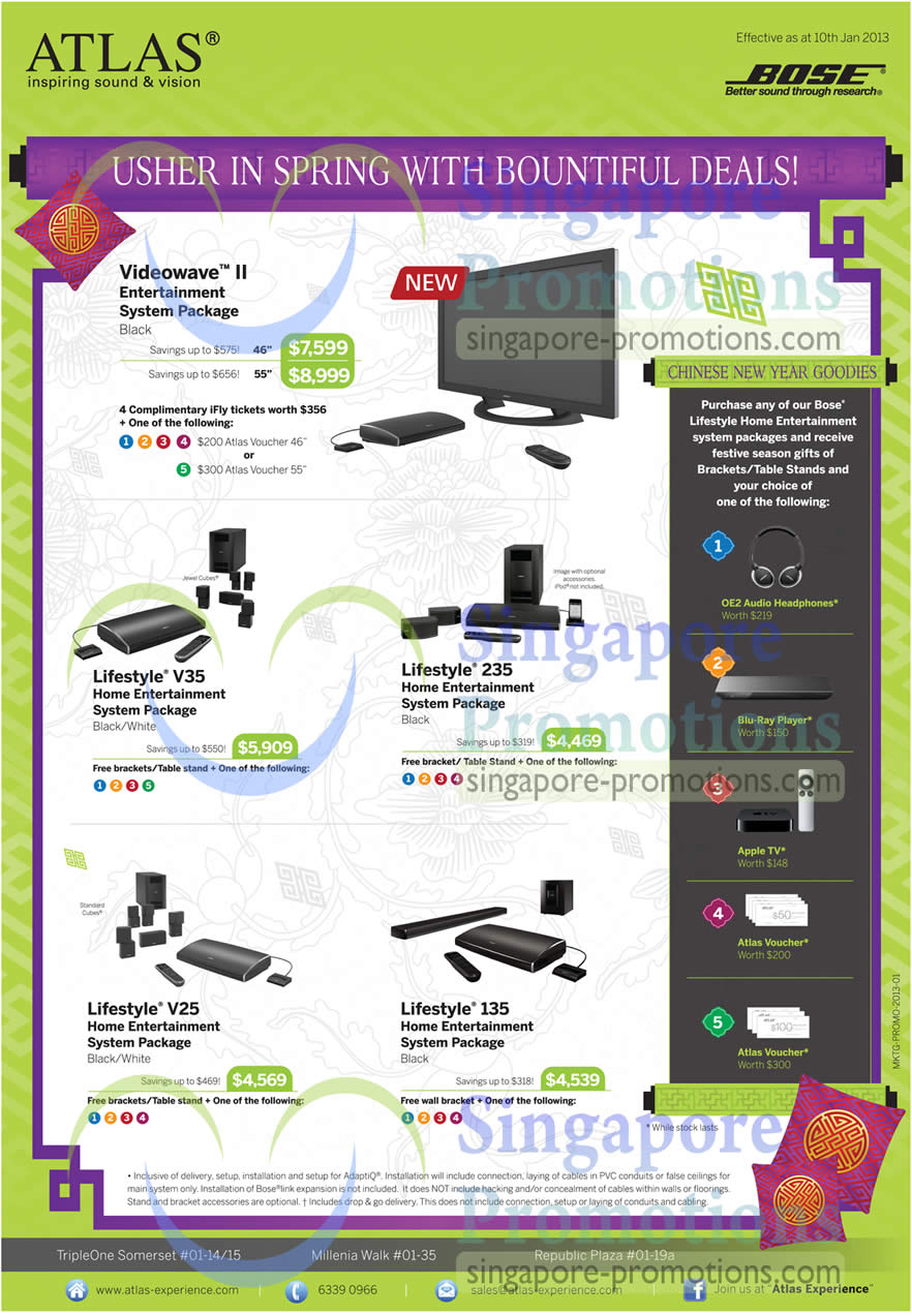 Home Entertainment System Packages