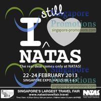 Read more about NATAS Fair 2013 (Feb 2013) Travel Fair @ Singapore Expo 22 - 24 Feb 2013