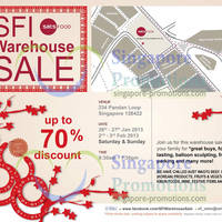 Read more about Singapore Food Industries Warehouse Sale Up To 70% Off 26 Jan - 3 Feb 2013