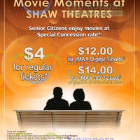Read more about Shaw Theatres Senior Citizens Concession Promotion 7 Jan - 31 Dec 2013