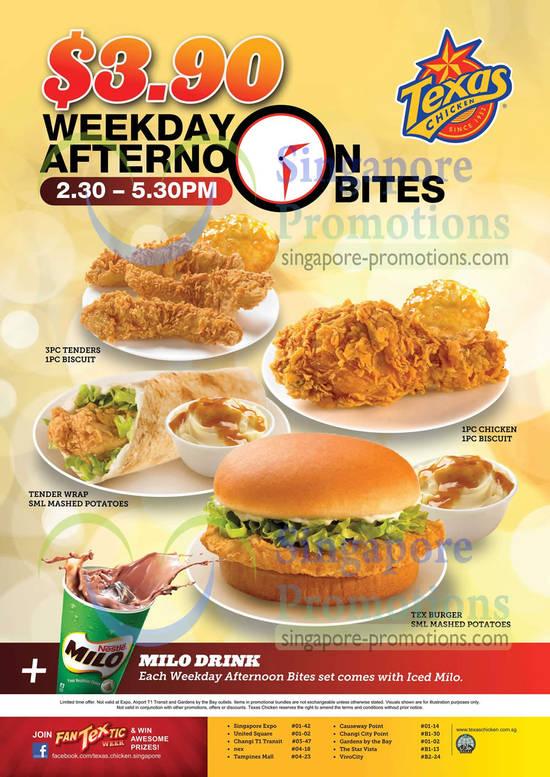 Menu Texas Chicken Texas Chicken 23 Jan 2013