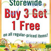 Read more about The Cocoa Trees Buy 3 Get 1 FREE Storewide Promotion 29 May - 31 Jul 2014