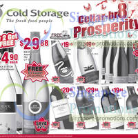 Read more about Cold Storage Abalones, Wines & Grocery Offers 19 - 24 Jan 2013
