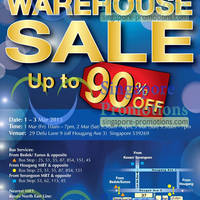 Read more about Bio-Essence, Ginvera & Ebene Warehouse Sale Up To 90% Off 1 - 3 Mar 2013