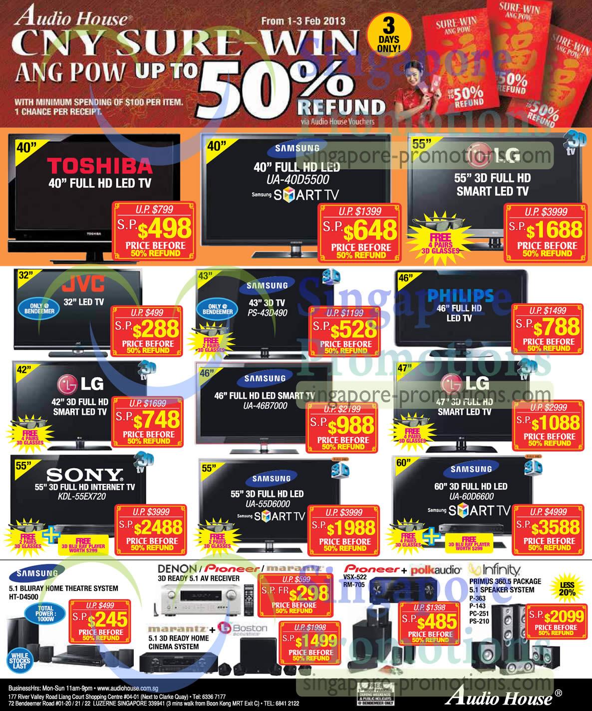 SAMSUNG LED TV UA-40D5500, SAMSUNG LED TV PS-43D490, SAMSUNG LED TV UA-46B7000, SAMSUNG LED UA-60D6600, SAMSUNG LED UA-55D6000, Sony LED TV KDL-55EX720