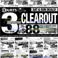 Read more about Courts 3 Days Festive Clear Out Promotion 1 - 3 Feb 2013