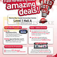 Read more about Singtel IT SHOW 2013 Smartphones, Tablets, Home / Mobile Broadband & Mio TV Offers 7 - 10 Mar 2013