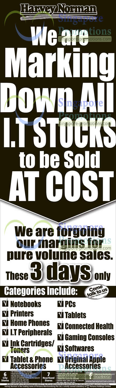 I.T Stocks Clearance