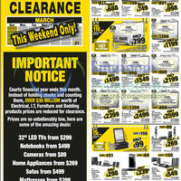 Read more about Courts Financial Year End Clearance 16 - 17 Mar 2013