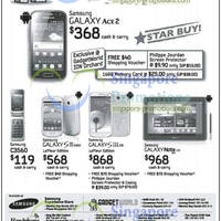 Read more about Samsung Smartphones & Mobile Phone Offers 23 Mar 2013