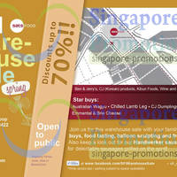 Read more about Singapore Food Industries Warehouse Sale Up To 70% Off 23 Mar 2013