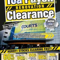 Read more about Courts Toa Payoh Renovation Clearance 12 - 24 Mar 2013
