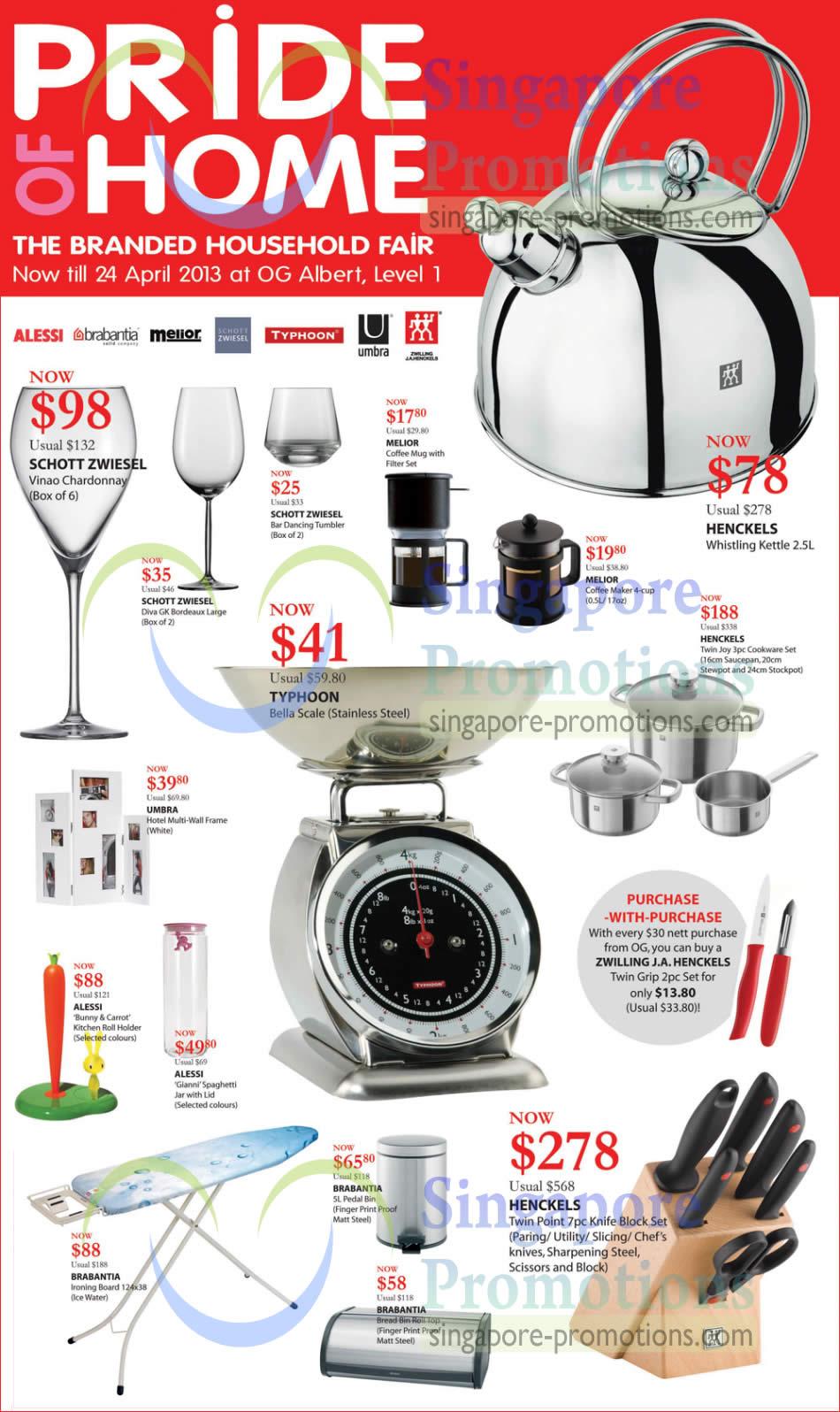 15 Apr OG Household More Offers