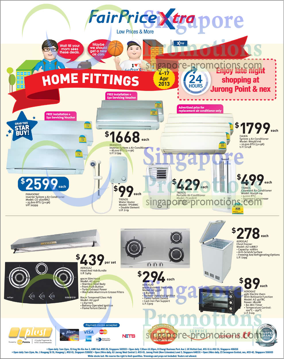 Air Conditioner, Water Heater, Hob, Freezer, Oven, Panasonic, Trends, Daikin, Aerogaz, Panasonic CU-3527MKZ Air Conditioner