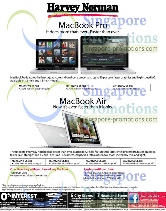 Apple Macbook Pro, Macbook Air