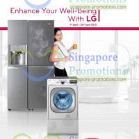 Read more about LG Fridges, Washers, Ovens & Other Appliances Features & Offers 1 - 30 Apr 2013