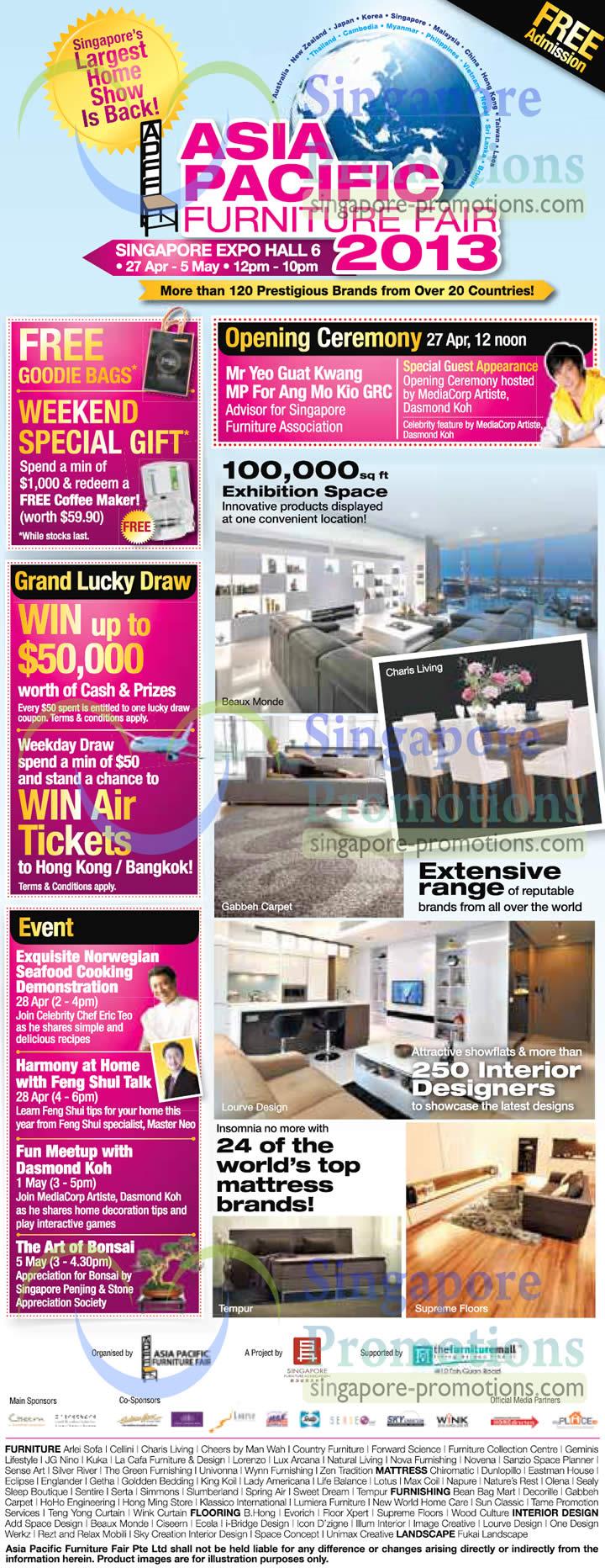 Asia Pacific Furniture Fair 25 Apr 2013