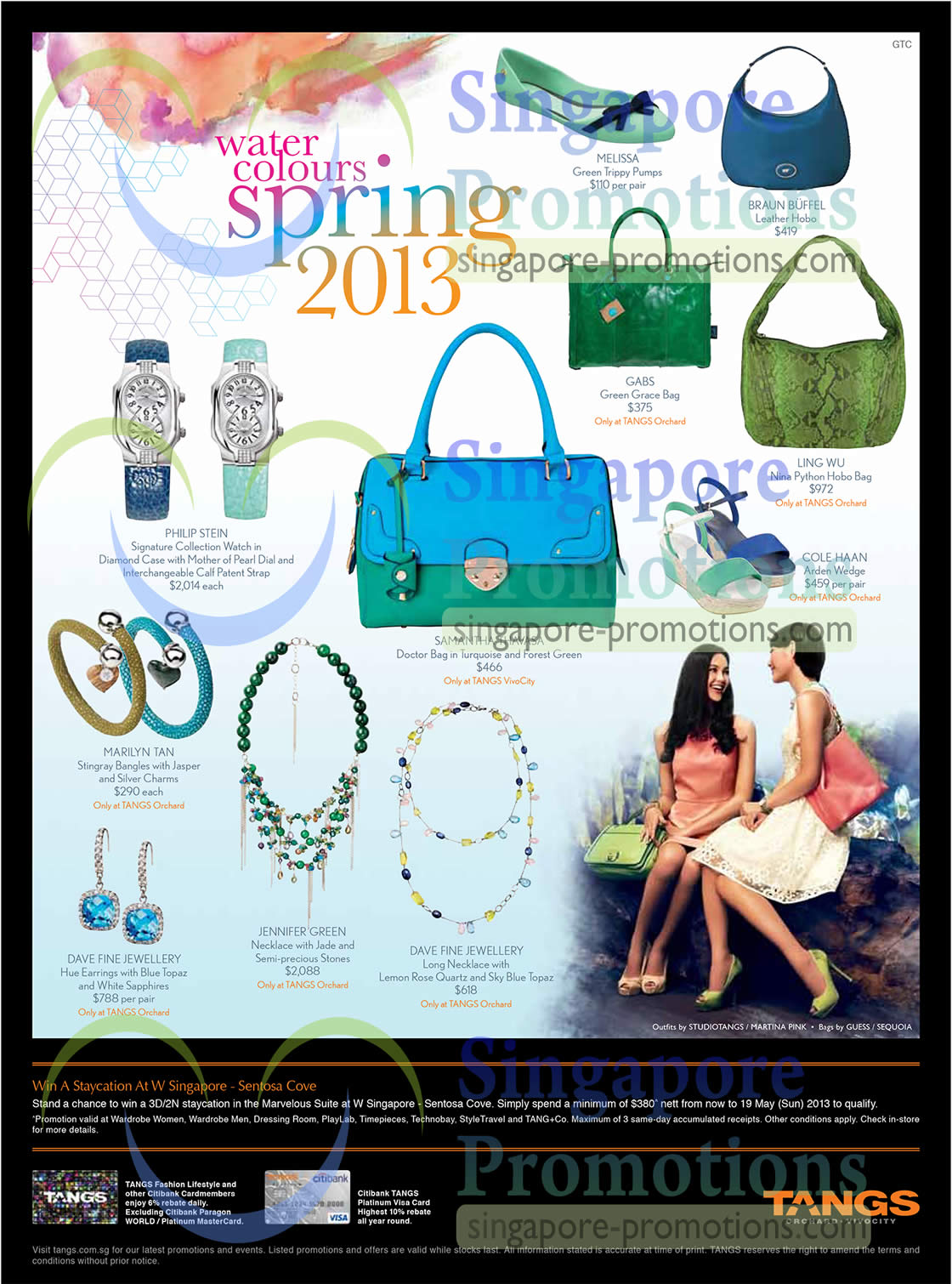 Melissa Green Trippy Pumps, Braun Buffel Leather Hobo, Gabs Green Grace Bag, Ling Wu Nina Python Hobo Bag, Cole Haan Arden Wedge, Samantha Thavasa Doctor Bag, Philip Stein Signature Collection Watch, Marilyn Tan Stingray Bangles, Dave Fine Jewellery Hue Earrings, Jennifer Green Necklace, Dave Fine Jewellery Long Necklace