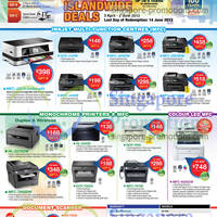 Read more about Brother Laser & Inkjet Printers & Scanner Offers 3 Apr - 2 Jun 2013