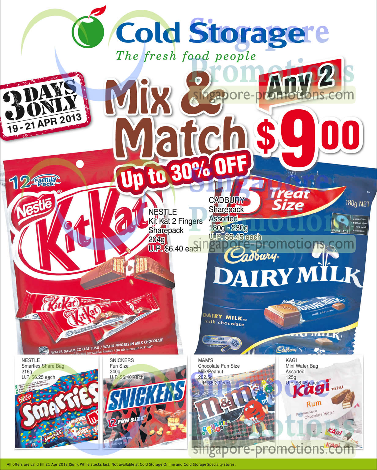 Chocolates Mix n Match Up To 30 Percent Off