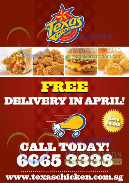 Free Delivery In Apr 2013