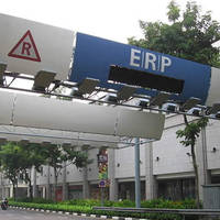 LTA Revised ERP Rates For Selected Gantries Effective From 4 May 2015