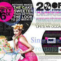 Read more about Metro 20% Off Storewide 56th Anniversary Promotion 26 - 28 Apr 2013