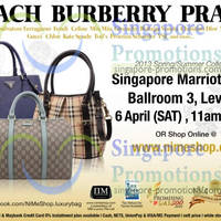 Read more about Nimeshop Branded Handbags Sale Up To 70% Off @ Marriott Hotel 6 Apr 2013