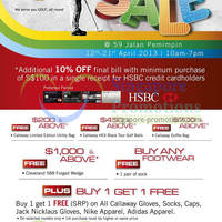 Read more about Pan-West Golf April Sale @ Jalan Pemimpin 12 - 21 Apr 2013