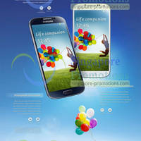 Read more about Samsung Galaxy S4 Singapore Prices, Specs & Features 18 Apr 2013