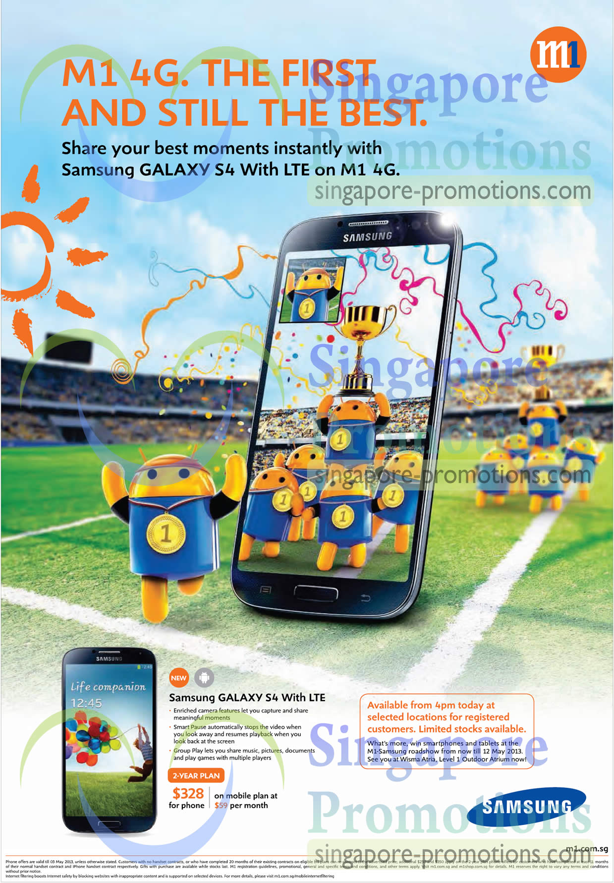 Samsung Galaxy S4 with LTE