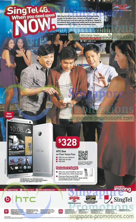 Singtel HTC One