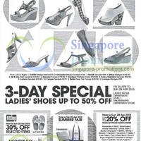 Read more about Takashimaya Ladies Shoes Up To 50% Off Promotion 26 - 28 Apr 2013