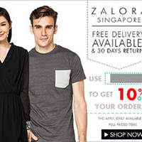 Read more about Zalora 10% OFF Storewide (NO Min Spend) Coupon Code 1 - 31 Jan 2015