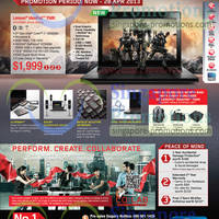 Read more about Lenovo Notebooks & AIO Desktop PC Offers 2 - 28 Apr 2013