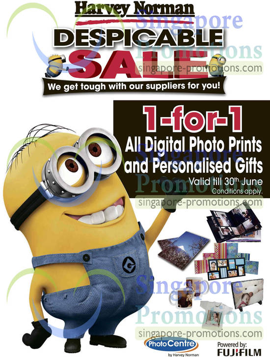 1 for 1 All digital photo prints and personalised gifts