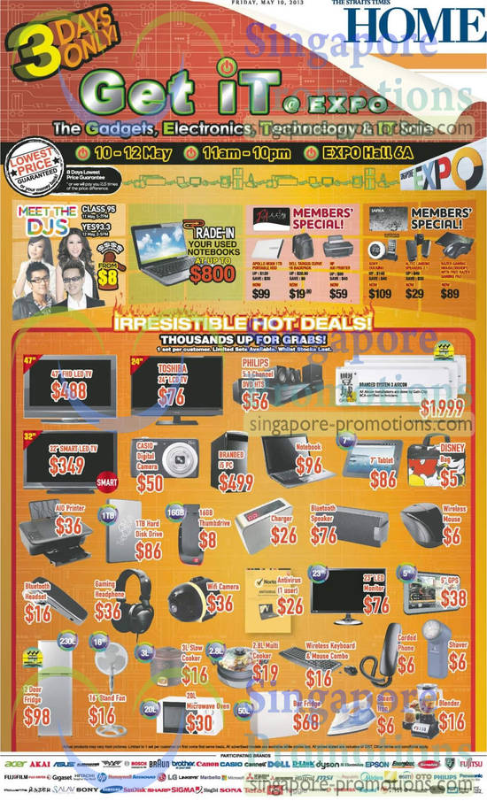 10 May Irresistible Hot Deals TVs, Air Conditioner, Steam Iron, Fridge, Fan, Shaver