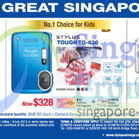 Read more about Olympus Digital Cameras Great Singapore Sale Offers 2 May - 28 Jul 2013