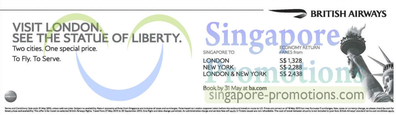 28 May London, New York