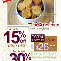 Read more about Bee Cheng Hiang Mini Crunchies Up To 30% Off Promo 14 - 17 May 2013