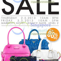 Read more about Brandsfever Handbags Sale Up To 80% Off @ Marriott Hotel 2 - 3 May 2013