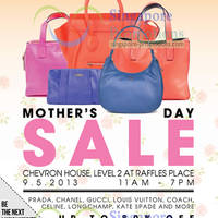 Read more about Brandsfever Handbags Sale Up To 80% Off @ Chervon House 9 May 2013