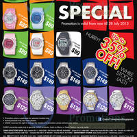 Read more about Casio Watches Great Singapore Sale Special 21 May - 28 July 2013