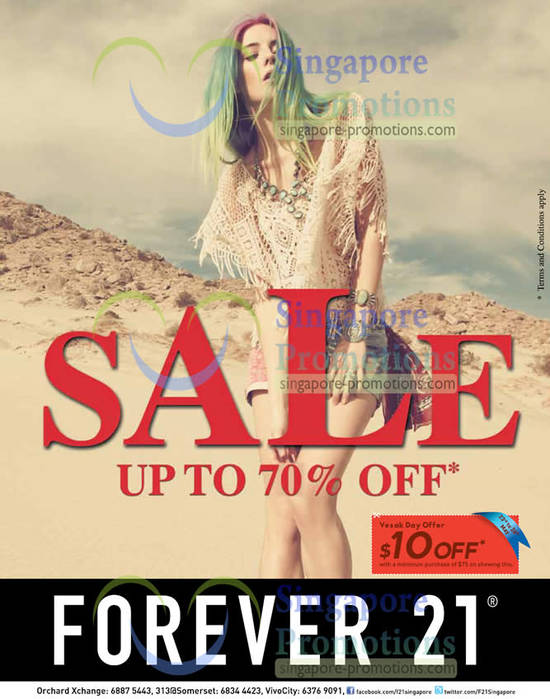 Forever 21 23 May 2013