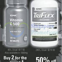 Read more about GNC Great Sale Vitamin C & Triflex Supplement Offers 22 May 2013