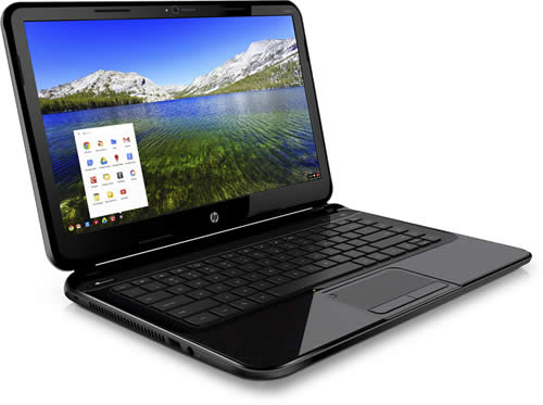 HP Pavilion 14 Chromebook Side