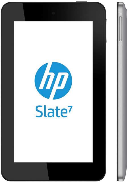 HP Slate 7 Front n Side