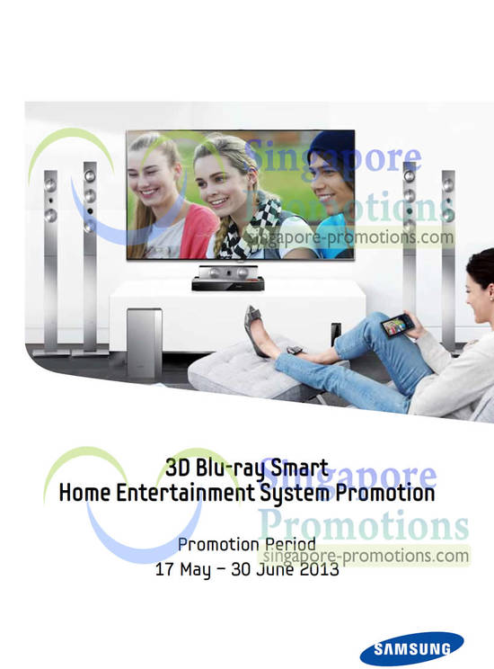Home Entertainment System Promotion
